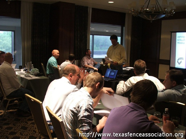 Texas Fence Association - Meeting at Omni Hotel Houston Galleria